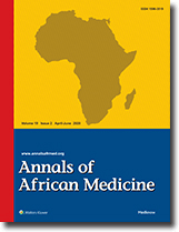 Annals of African Medicine